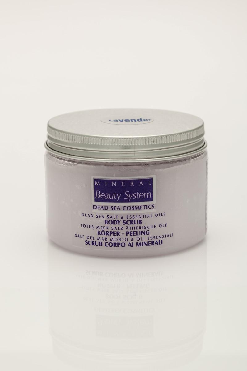 Пилинг за тяло с масла и соли от Мъртво море Mineral Beauty System