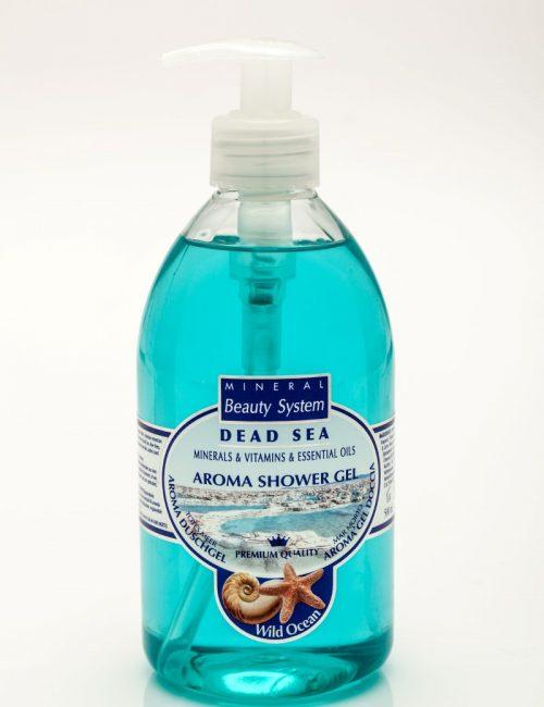 Арома душ гел Mineral Beauty System със соли от Мъртво море - Океан