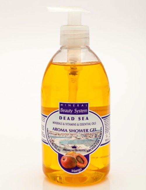 Арома душ гел Mineral Beauty System със соли от Мъртво море - Манго