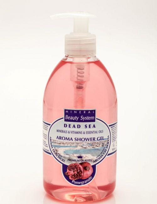 Арома душ гел Mineral Beauty System със соли от Мъртво море - Нар