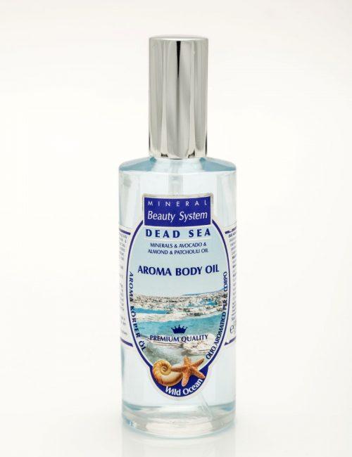 Арома масло за тяло с минерали от Мъртво море - Океан