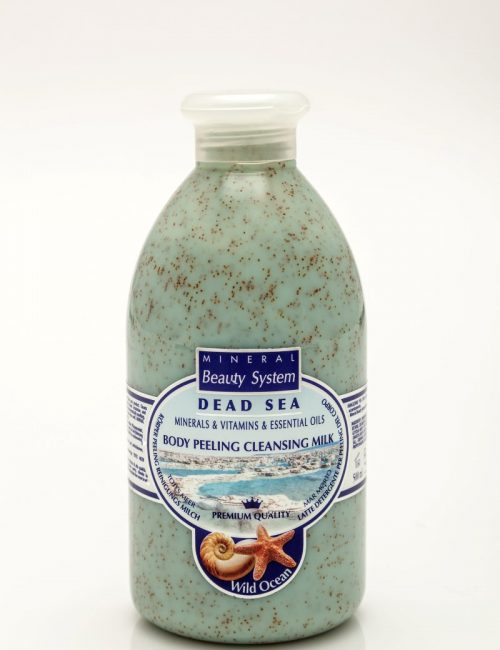 Арома пилинг мляко за тяло с минерали от Мъртво море - Океан