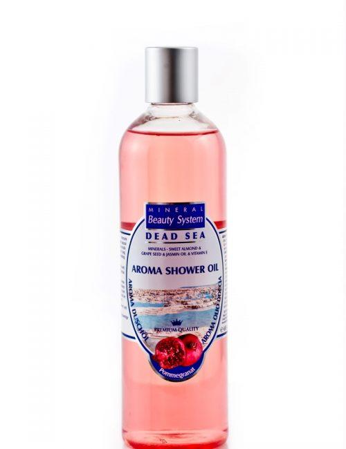 Арома душ олио с минерали от Мъртво море Mineral Beauty System - Нар