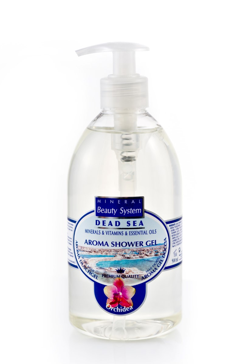 Арома душ гел Mineral Beauty System със соли от Мъртво море - Орхидея