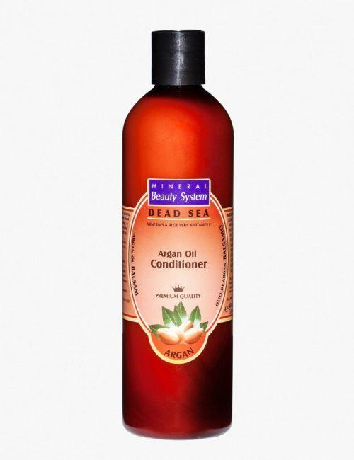 Балсам за коса с арганово масло и соли от Мъртво море Mineral Beauty System