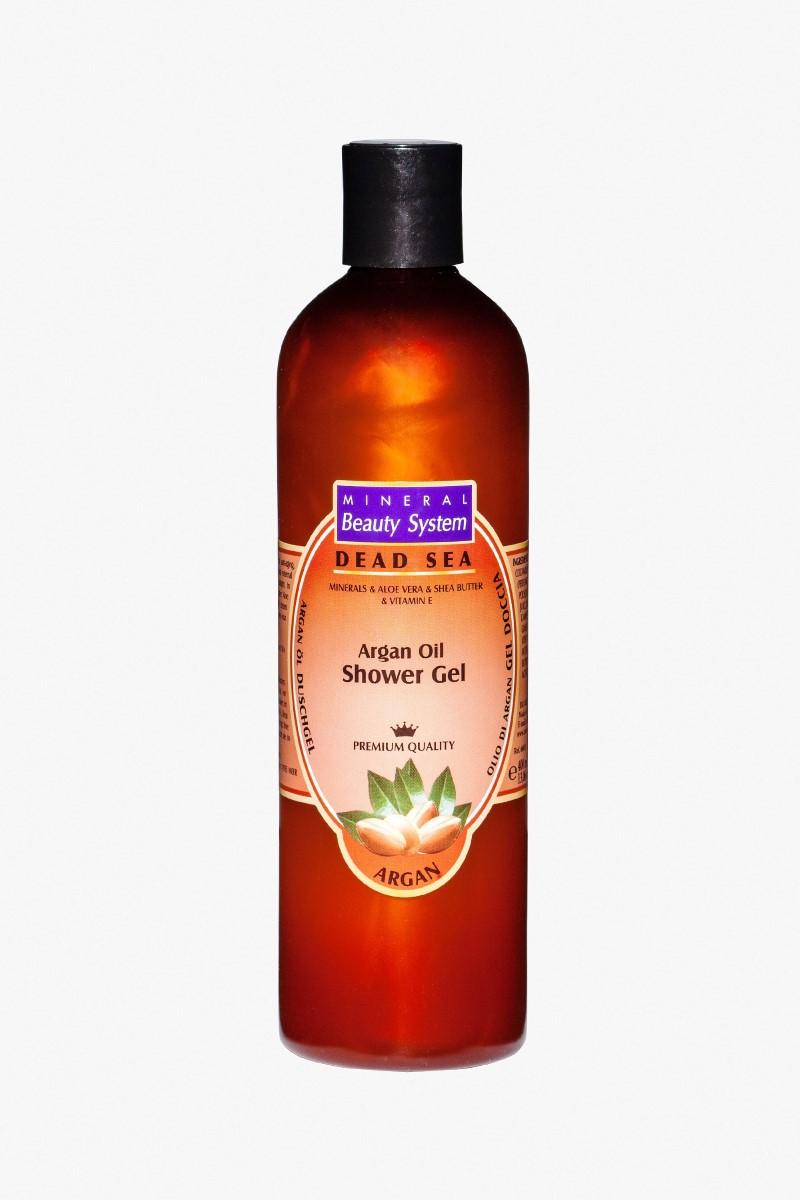 Душ гел за тяло на Mineral Beauty System с арганово масло и минерли от Мъртво море