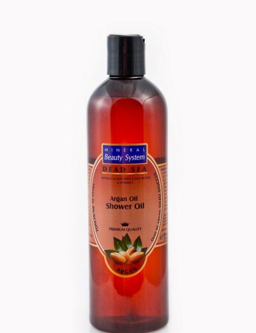 Душ олио за тяло на Mineral Beauty System с арганово масло и минерали и соли от Мъртво море