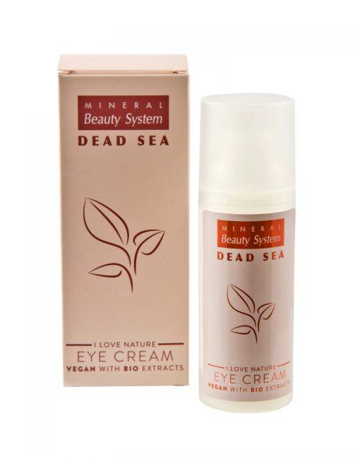 Околоочен крем Vegan на Mineral Beauty System със соли и минерали от Мъртво море