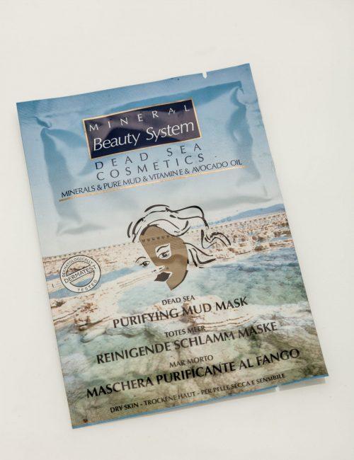 Почистваща маска за лице с кал от Мъртво море - Mineral Beauty System